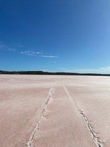 西澳粉紅湖Hutt Lagoon