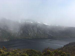 搖籃山-火山湖